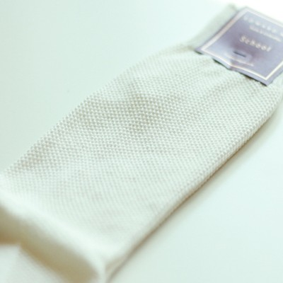 EMS-PIQUE'(WHITE) (디자이너SOCKS/양말)