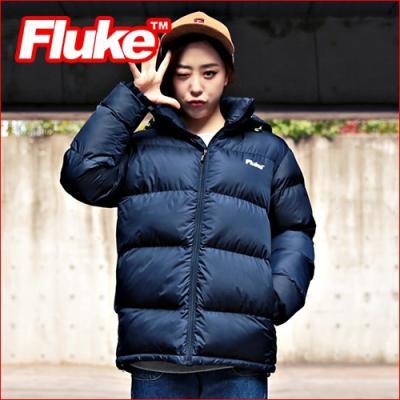 [플루크 패딩] 엘브루즈 헤비 패딩 점퍼 네이비 FPJ1501-NAVY FLUKE 15FW