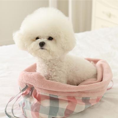 유아러피치 포대기 가방(아이보리/핑크)