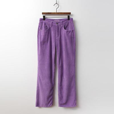 Corduroy Straight Pants