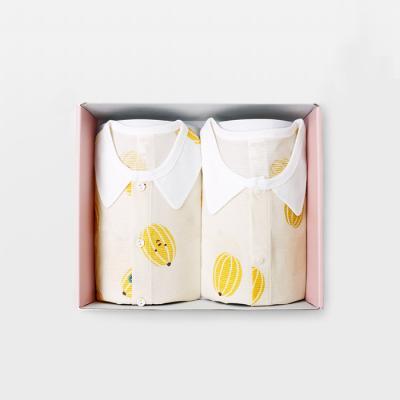 메르베 아기참외 돌선물세트(7부내의+수면조끼)여름용