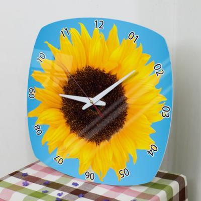 il562-아크릴시계_풍수를부르는해바라기꽃