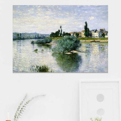 주문제작 액자 Monet The Seine at Lavacourt
