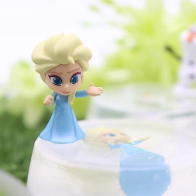 디즈니 피규어 비누 엘사