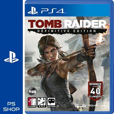 PS4 툼레이더 Definitive Edition 한글판