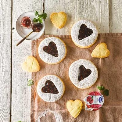 피나포레 오리지널 린저 하트 쿠키 만들기 쿠킹키트