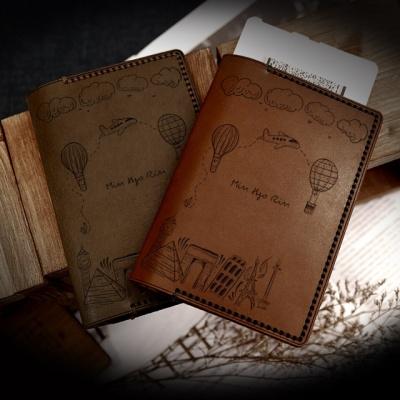 이태리 베지터블 가죽 여권케이스 [RLP017 세계여행]