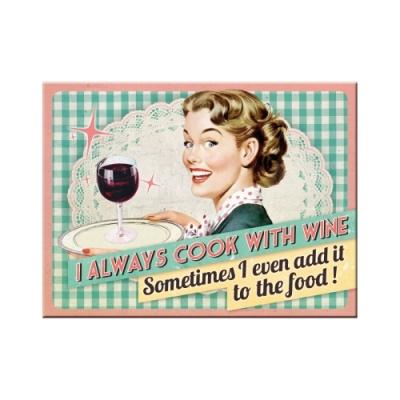 노스텔직아트[14280] Cook With Wine?