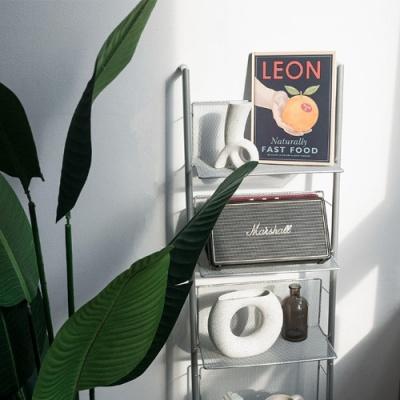 CD 매거진 무광 스틸 선반