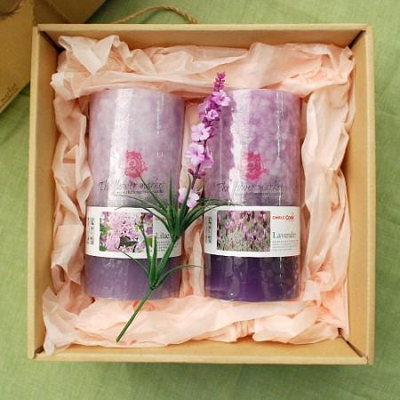 프란시스아로마향초선물세트-라일락+라벤더