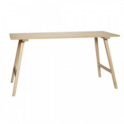 [Hubsch]Dining table, oak, nature 889050 테이블