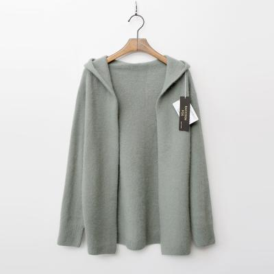Laine Raccoon Fox N Wool Hood Cardigan