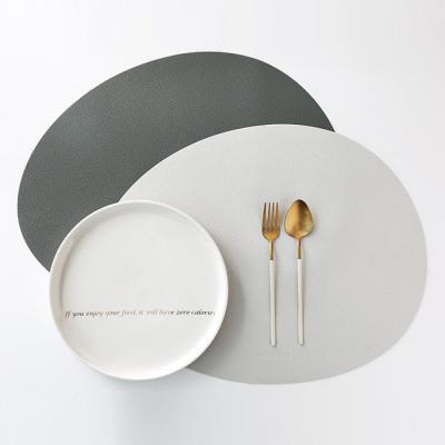 [케라미카]실리콘 테이블매트 오벌(13color)