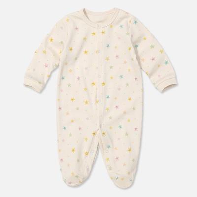 [위드오가닉] 오가닉 발달이우주복 아기별