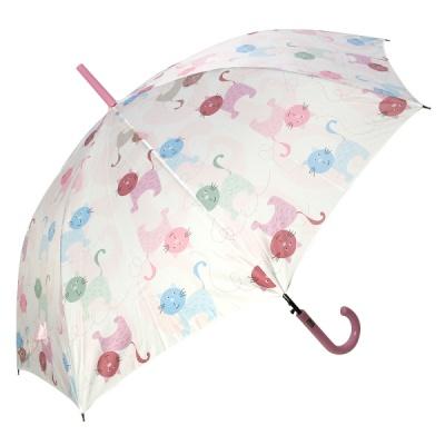 레인스토리 자동 장우산 - 낭만고양이