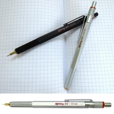 로트링 800샤프 0.5mm / 0.7mm(블랙,실버)