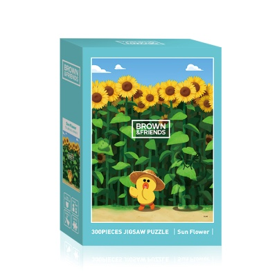 브라운앤 프렌즈 해바라기 300피스 퍼즐 LA03-018