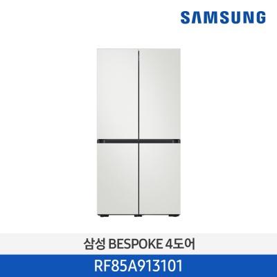 삼성전자 비스포크 냉장고 RF85A913101 874L 화이트