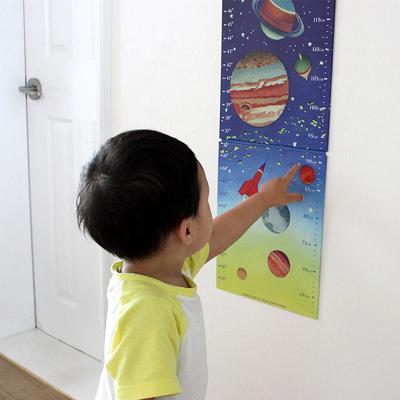 우주선 키재기 차트 (방꾸미기, 인테리어)