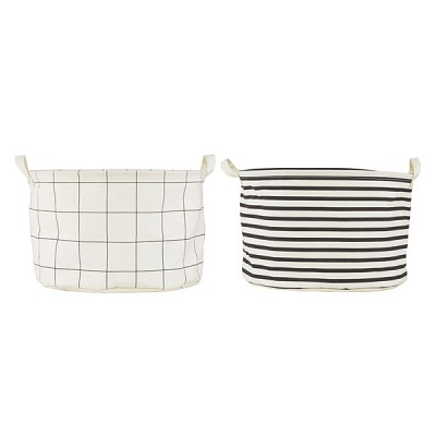 bag, Squares & Stripes, asstd. 2 prints,Ls0422