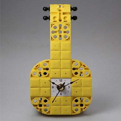 바이올린3 블럭시계 (170178) 블럭레고형시계