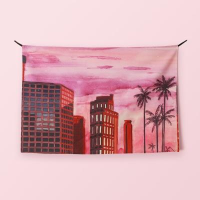 패브릭 포스터 / the sunset of LA