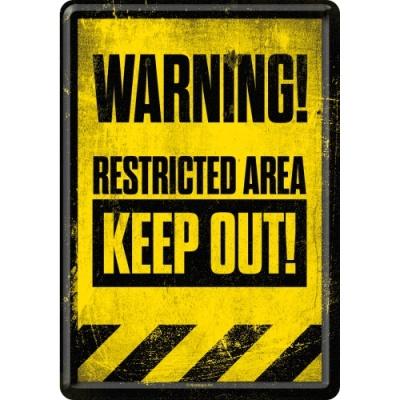 노스텔직아트[10263] Restricted Area - Keep Out!