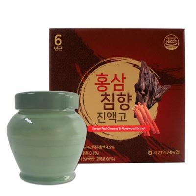 [개성인삼농협] 6년근 홍삼 침향 진고액 1000g(단지)