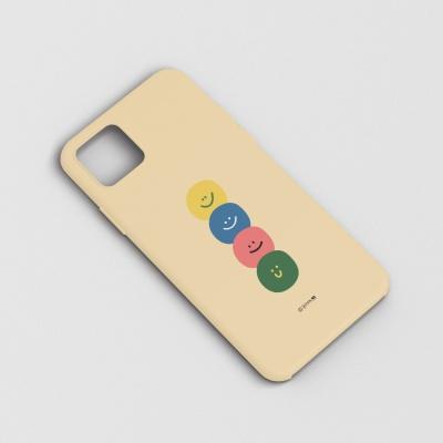 BFMA 하드 폰케이스-스마일리 (아이폰갤럭시LG)