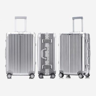 20호 알루미늄 하드캐리어 여행가방 A306 20 실버
