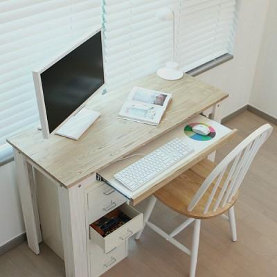 티케 원목컴퓨터책상11545 SET - 자체디자인 국내제작 원목가구