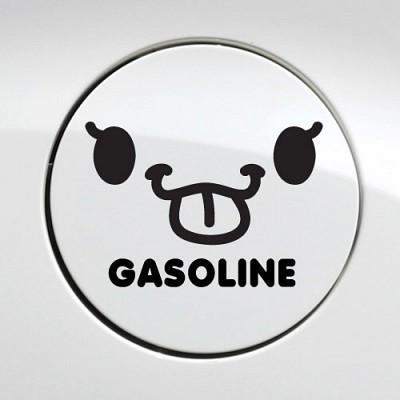 주유구_메롱 가솔린 [자동차스티커/주유구스티커]