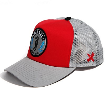Sea Horse Mesh Cap Red