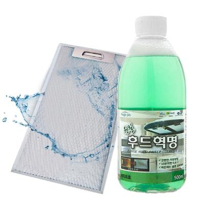 [매직프로]주방후드 청소 원킬후드혁명(500ml+지퍼백)