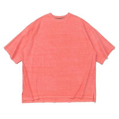 CB 아콘 피크먼트 오버핏 티셔츠 (핑크)