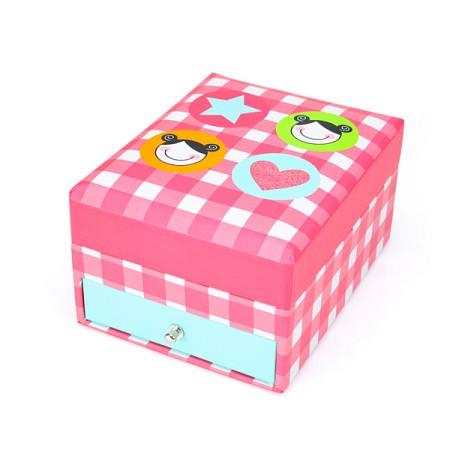IZZIE - FLAT JEWELLERY BOX (KSSM077)