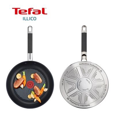 주방명품 Tefal 테팔 일리코 스테인레스 프라이팬 24cm (단품)
