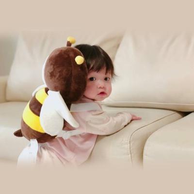 꿀벌 머리쿵방지쿠션 아기 머리보호대 베비쿵