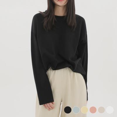 줄리아페페 (WOMAN) 에센셜 긴팔 티셔츠 6COLOR