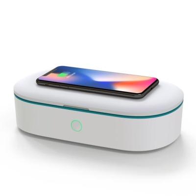 [햅시] 스마트폰소독 UV살균기 스마트폰무선충전