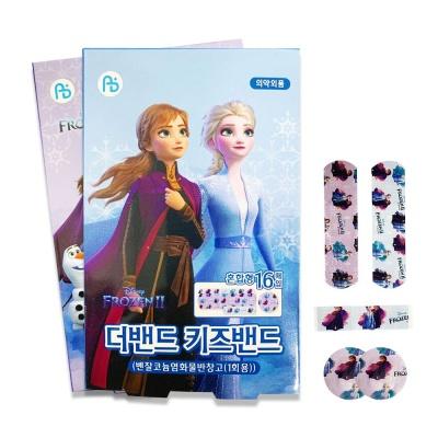 겨울왕국 키즈밴드 혼합형(16매입x1팩) 엘사 반창고