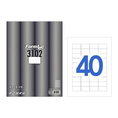 폼텍 바코드용 라벨/LS-3102