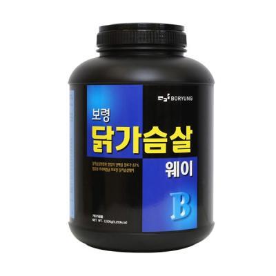 보령제약 닭가슴살웨이 2.5kg 헬스보충제 단백질보충제
