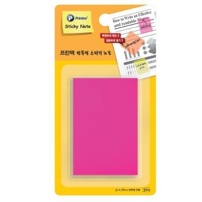 반투명스티키노트 CL5176P 핑크 (프린텍)(개) 329477