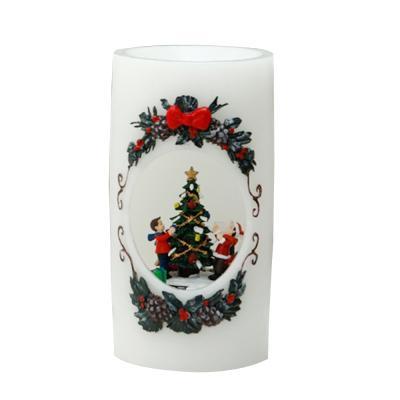 [adico]크리스마스 LED 캔들 - 트리