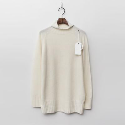 Laine Wool Cashmere Turtleneck
