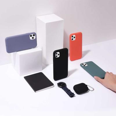 아이폰11프로 실리콘 케이스