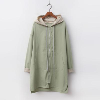 Spring Hooded Long Jumper