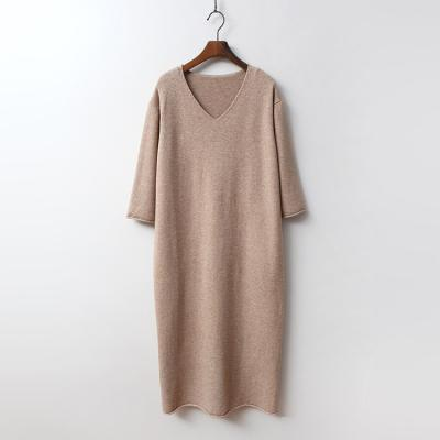 Seven V-Neck Long Dress