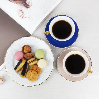 폴란드그릇 크리스토프바벨 서커스 커피잔접시세트 5P